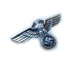 III REICH имперский орел, птица, курица, рукоятки кинжала SS, SA, СА, СС серебро. Копия., фото №5