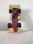Деревянная гоночная машина винтажная, фото №3