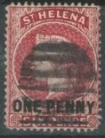 Бж12б Британские колонии. Святой Елены о. 1887 №14, фото №2