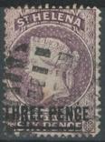 Бж12г Британские колонии. Святой Елены о. 1887 №17 (6 евро), фото №2