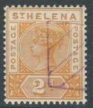 Бж13б Британские колонии. Святой Елены о. 1896 №24 (16 евро), фото №2