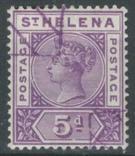 Бж13в Британские колонии. Святой Елены о. 1896 №26 (40 евро), фото №2