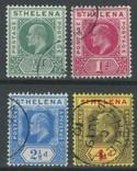 Бж14 Британские колонии. Святой Елены о. 1902-1908 №№28-29 и 36-37 (31 евро), фото №2