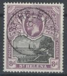 Бж15в Британские колонии. Святой Елены о. 1912 №46 (70 евро), фото №2