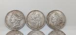 Монеты посеребрение Копия лот 2, фото №3