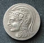 Афинская тетрадрахма Сова (копия), фото №2