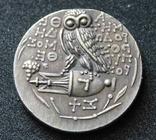 Афинская тетрадрахма Сова (копия), фото №3