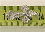 Крестик серебро 925 проба 1,57 грамма, фото №5