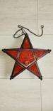 Новогодний светильник звезда на свечу, фото №3