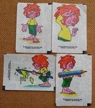 Вкладыши от жвачек Pumuсkl.Мюнхен.Германия 1985 г., фото №2
