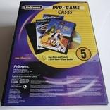 DVD/CD Боксы короба - комплект 5 шт. в упаковке, фото №2