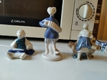 Фарфор статуэтки детство, фото №2