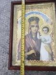 Икона Богородица 34х24, фото №3
