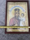 Икона Богородица 34х24, фото №4