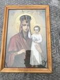 Икона Богородица 33х23 см, фото №2