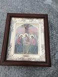 Икона Св. Троица 27х23 см, фото №2