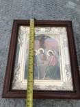 Икона Св. Троица 27х23 см, фото №3