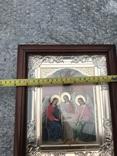 Икона Св. Троица 27х23 см, фото №4