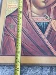 Икона бумага на дереве 50х39 см, фото №6