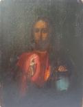 Иисус Вседержитель. 19 в. 17 х 22 см, фото №2
