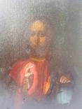 Иисус Вседержитель. 19 в. 17 х 22 см, фото №4