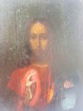Иисус Вседержитель. 19 в. 17 х 22 см, фото №5