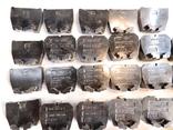 Изоляторы наборных зажимов ЗН24-16У3 и КТ6У СССР 45шт, фото №3