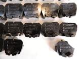 Изоляторы наборных зажимов ЗН24-16У3 и КТ6У СССР 45шт, фото №5