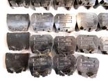 Изоляторы наборных зажимов ЗН24-16У3 и КТ6У СССР 45шт, фото №6