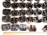 Изоляторы наборных зажимов ЗН24-16У3 и КТ6У СССР 45шт, фото №9