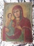 Икона Образ Пр. Богородицы. Праворучицы 31 Х 23.5, фото №2