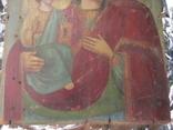 Икона Образ Пр. Богородицы. Праворучицы 31 Х 23.5, фото №5