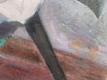 Натюрморт, 97х93см, авт. Куликов, 1969г, фото №6