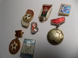 7 значков ссср.тематика футбол., фото №5