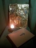 Икона святых 19 век , святое писание 1900 года , правило причящений ., фото №10