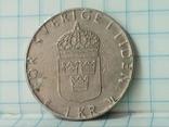 Швеция 1 крона 1980, фото №2