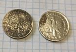 1 злотий 1924 Ядвіга + 2 злотих, фото №2