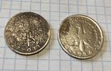 1 злотий 1924 Ядвіга + 2 злотих, фото №5