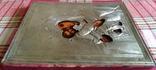 Ікона Володимирська Богородиця, латунь 22,3х18,0 см, фото №6