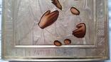 Ікона Іверська Богородиця, латунь 22,3х18,0 см, фото №8