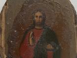 Икона миниатюрная. Серебро, фото №3