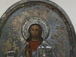 Икона миниатюрная. Серебро, фото №5