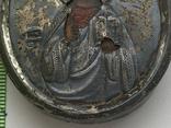 Икона миниатюрная. Серебро, фото №7