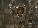 Миниатюрная икона. Серебро, фото №5