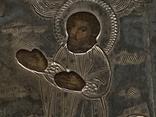 Миниатюрная икона. Серебро, фото №7