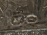 Миниатюрная икона. Серебро, фото №8