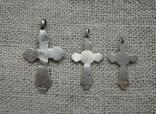 Крестики царизм 84 пробы, фото №3