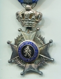 Бельгия. Орден Леопольда II. Серебро 950, фото №4