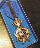 Бельгия. Орден Леопольда II. Серебро 950, фото №2