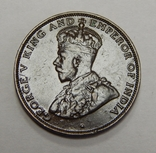 1 цент, 1933 г Гон-Конг, фото №3